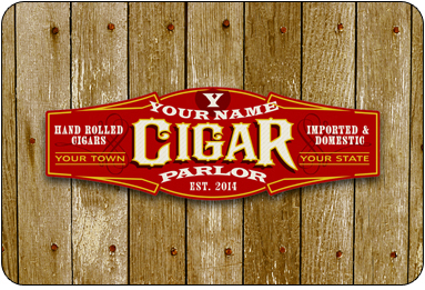 Personalized Cigar Sign #2